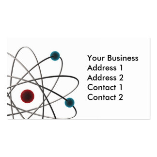 Atom Pack Of Standard Business Cards