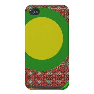 atom pattern mf iPhone 4/4S case