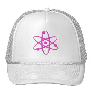 atom pink trucker hats