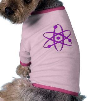 atom purple doggie shirt