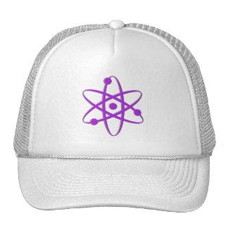 atom purple trucker hats