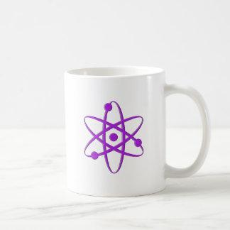 atom purple coffee mug