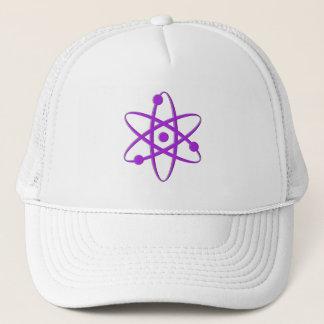 atom purple trucker hat