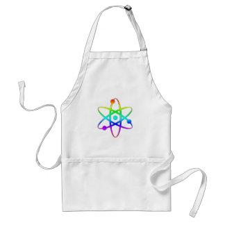 atom rainbow aprons