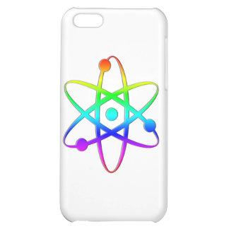 atom rainbow iPhone 5C cases