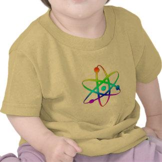 atom rainbow tshirts