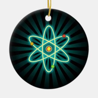 Atom Round Ceramic Decoration