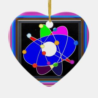 ATOM science explore study research SCHOOL Christmas Ornament