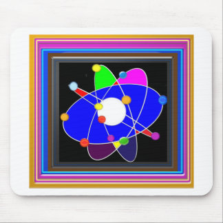Atom Science School Research Development NVN658 RN Mouse Pad
