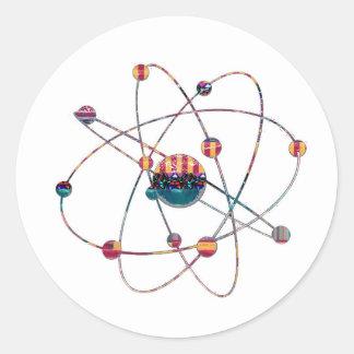 Atom Science School Research Development NVN658 RN Sticker