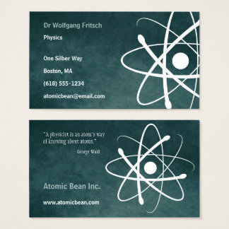 Atom | Scientist Business Card