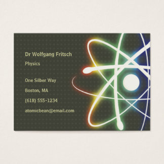 Atom - Scientist Business Card
