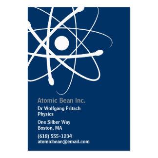 Atom - Scientist Business Card 3 5 x2 5