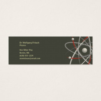 Atom | Scientist Mini Business Card