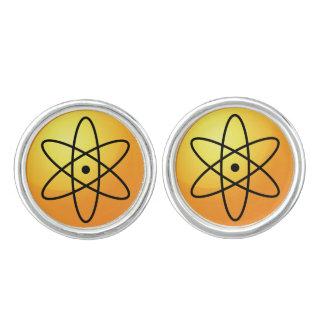 Atom Sign Cufflinks