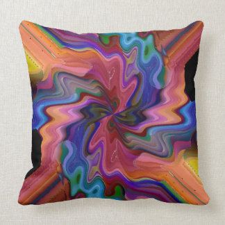 Atom Smashing Throw Pillow