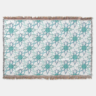 Atom Throw Blanket