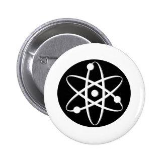 atom white pins