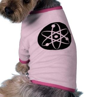 atom white dog shirt