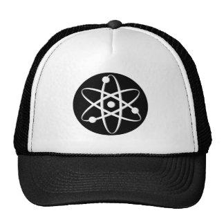 atom white trucker hats