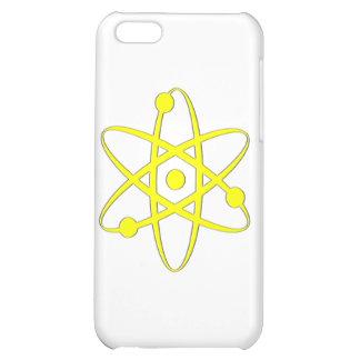 atom yellow iPhone 5C cases
