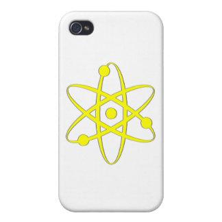 atom yellow iPhone 4 covers