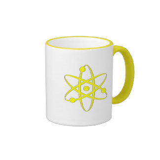 atom yellow mug