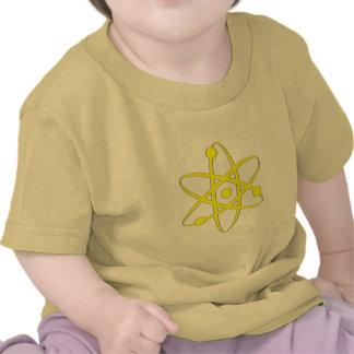atom yellow t shirt