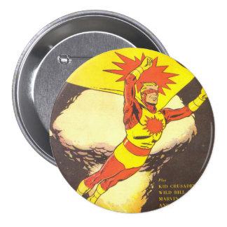 Atoman vintage comics 7.5 cm round badge