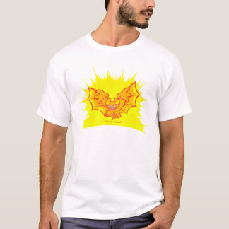 atombat atomised red outline T-Shirt