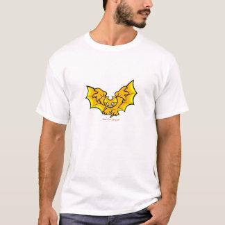 atombat atomises black outline T-Shirt 2