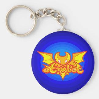 atombat logo v2 Keychain