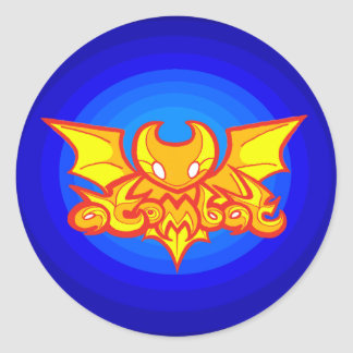 atombat logo v2 Sticker