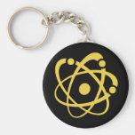Atomic Bingo Au Go Go Keychain
