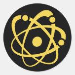 Atomic Bingo Au Go Go Round Sticker