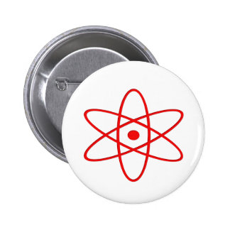 Atomic Blast 6 Cm Round Badge