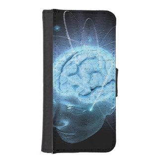 Atomic Brain Phone Wallet