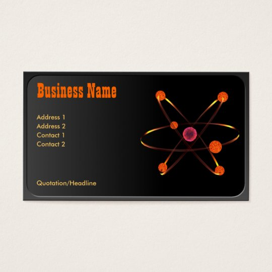 Atomic Business Card