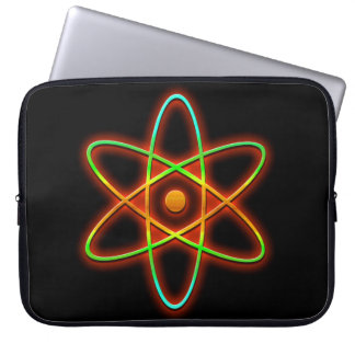 Atomic concept. laptop sleeve