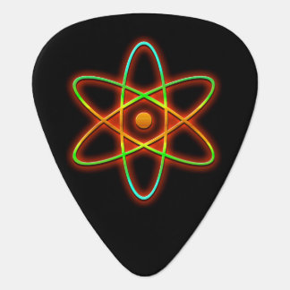 Atomic concept. plectrum