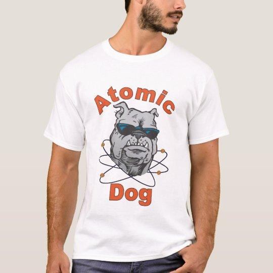 Atomic Dog - white t-shirt / male