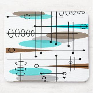 Atomic Era Mid-Century Modern Abstract Mouse Pad