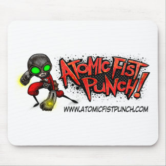ATOMIC FIST PUNCH MOUSE MAT