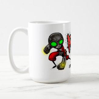 ATOMIC FIST PUNCH Mug! Basic White Mug
