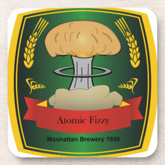 Atomic Fizzy coaster