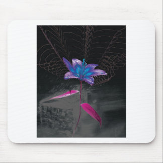 Atomic Flower Mouse Pad