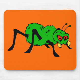 Atomic Furry Halloween Spider Mouse Mat