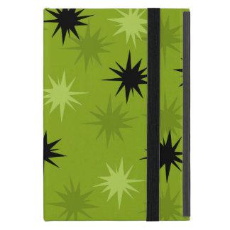 Atomic Green Starbursts iPad Mini Case