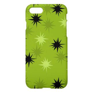 Atomic Green Starbursts iPhone 7 Case