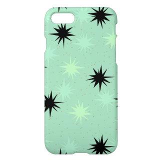 Atomic Jade & Mint Starbursts iPhone 7 Case